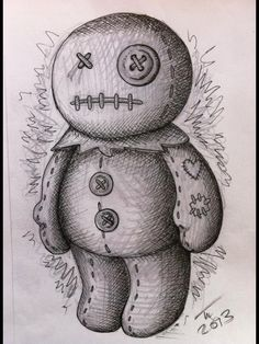 cute voodoo doll tattoo - Pesquisa Google
