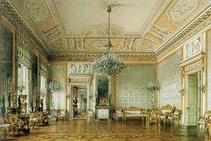 Palace Interior, Winter Palace, Royal Crowns, Interior Rendering, Abandoned Mansions, Furniture Styles, House Goals, Fantasy Artwork, Historic Homes