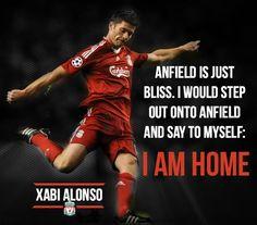 Alonso #LFC #legend Football Is Life, Football Team, Xavi Alonso, Liverpool You'll Never Walk Alone, Liverpool Fc Wallpaper, Liverpool History, My Big Love, Classic Chevy Trucks, Liverpool Football Club