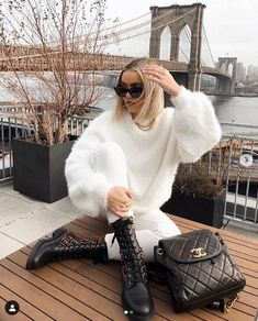 winter outfits new york - winteroutfits Winter Mode Outfits, Summer Dress Outfits, Casual Fall Outfits, Winter Fashion Outfits, Look Fashion, Stylish Outfits, Autumn Winter Fashion, Cute Outfits, Fashion Clothes