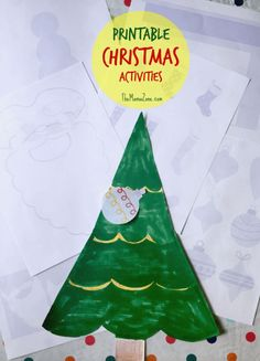 Enjoy these six free printable Christmas worksheets for kids (plus 2 bonus activities when you sign up for my newsletter). Just visit and click to download and print.