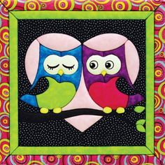 Mary Maxim - Love Owls Quilt Magic - Owl Crafts - Promotions