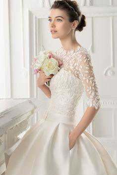 Aire Barcelona vestidos de novia 2014