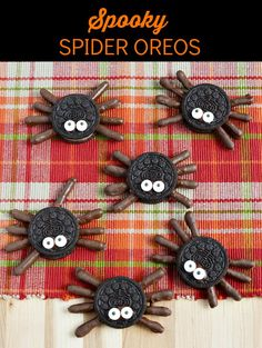 Halloween Spooky Spider OREOS