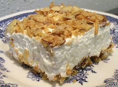 My favorite Coconut Cream Pie, Low Carb - With liquid Splenda, 3g net carbs per serving