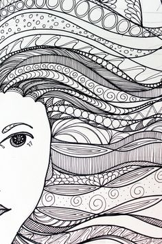 Zentangle Patterns | We Heart It