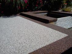 home Pebble Epoxy Flooring Möbel Epoxy Floor # Epoxy Epoxy Boo . Concrete Patio, Concrete Floors, Home Design, Lava, Concrete Resurfacing, Outdoor Flooring, Flooring Ideas, Outdoor Venues, Epoxy Floor