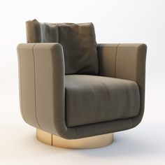 Fendi Casa Artu Small Armchair Model available on Turbo Squid, the world's leading provider of digital models for visualization, films, television, and games.