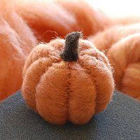 Adorable pumpkin!  This is a must-do craft for the fall.