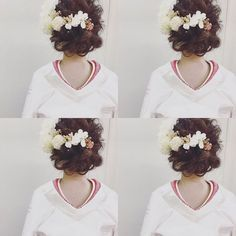 【白無垢×洋髪】和装に合う可愛いヘアアレンジ・髪型まとめ | marry[マリー]