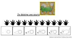 dessin dirigé de la souris - bout2fee