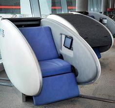Dormir no aeroporto