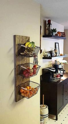 47 Small Kitchen Decor Ideas On a Budget to Maximize Existing the Space ~ grandes.site 47 Small Kitchen Decor Ideas On a Budget to Maximize Existing the Space ~ grandes. Kitchen Organization, Kitchen Storage, Organization Ideas, Organized Kitchen, Kitchen Shelves, Small Bathroom Storage, Organizing Life, Garage Storage, Kitchen Cabinets