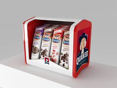 QUAKER - Exhibidores on Behance