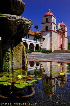 Santa Barbara reflections, California