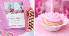 Pretty in Pink party: Emmalyn is 1!