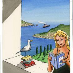 Jacques de Loustal - Le site officiel - Dessinateur de bande dessinée, peintre et illustrateur français - Illustrations