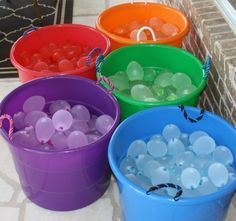 Water Balloons For Chindren Beach Toys/Outdoor Sports/Swimming Pool Party summer beach toys for children Water War Splash Party, Water Birthday, Summer Birthday, 8th Birthday, Birthday Ideas, Circus Party, Luau Party, Sommer Pool Party, Pool Party Decorations