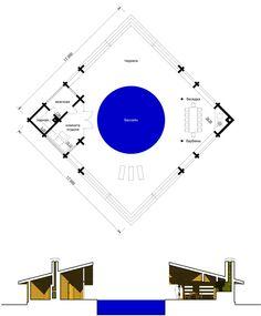 Банный комплекс «Дуплет»   Проекты бань и саун