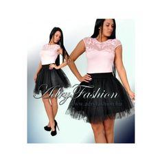 2196004da5 Tüll betétes fekete gumis derekú szoknya - AdryFashion női ruha webáruház,  Ruha webshop, Amnesia, NedyN, Rensix , Egyedi ruha