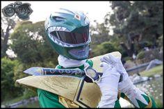 Cosplay: Green Ranger - Power Rangers -- Cosplayer: Julio Franco Campos Ynjante -- Lugar: ((Jornadas de Manga y Anime 29/10/11)) -- Ph: CospPhoto