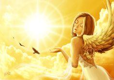 Sunbathing by Kim Dreyer / AmberCrystalElf