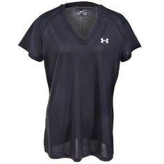 5b71a25b5d Under Armour Shirts  Women s Black 1228321 001 UA Tech Short Sleeve Shirt