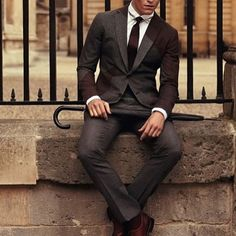 #fashion #gentleman #boss #suit #tie #style
