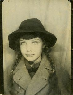 +~ Vintage Photo Booth Picture ~+  Wide eyed, braids and ready to go on her next adventure!