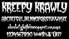 Kreepy Krawly Font