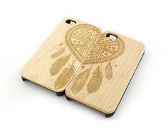 W112 Wood Case - (MATCHING CASE) BEST FRIENDS FOREVER HEART DREAMCATCHER