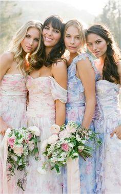 Plum Pretty Sugar's Brand New Bridesmaid Dresses!   Photo by Jose Villa
