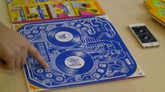 Re-Mix your own track with this awesome 'Conductive Ink' based Album Cover for DJ QBert