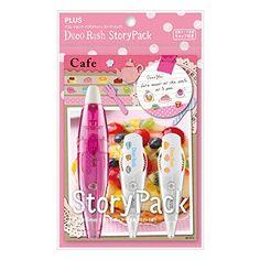 Plus Decoration Tape Deco Rush Story-Cafe Plus http://www.amazon.com/dp/B00AQOJI26/ref=cm_sw_r_pi_dp_0jNavb01144RC