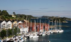 Farsund guest marina in Norway.  Photo: Tore K Haus