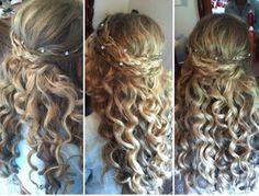 Prom/wedding hair