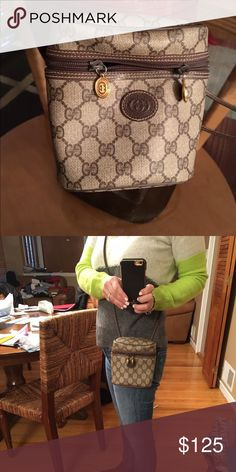 Gucci Camera Crossbody Bag Gorgeous bag! Just putting up a few pics. More to follow. Authentic Gucci Bag. No dust bag. Gucci Bags Crossbody Bags