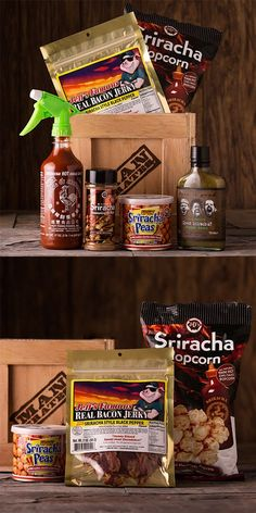 Since my dad already puts sriracha on everything, I figured this crate would save him some time! Best Father's Day gift ever!