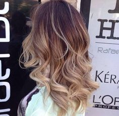 I love this length and colour