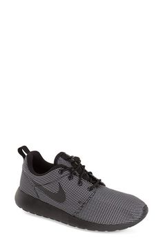 Nike 'Roshe Run' Sneaker (Women) available at Size Ankle Sneakers, Converse Sneakers, Slip On Sneakers, Leather Sneakers, Bags Online Shopping, Shoe Deals, Nike Roshe Run, Plimsolls, Types Of Shoes
