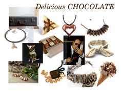 """""""Delicious CHOCOLATE"""" by kapkadesign ❤ liked on Polyvore featuring interior, interiors, interior design, home, home decor, interior decorating, Pancracio and Tom Ford"""