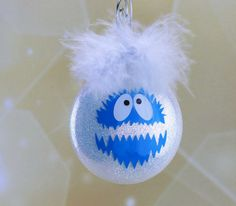 Hey, I found this really awesome Etsy listing at https://www.etsy.com/listing/496798921/bumble-abominable-snowman-yeti-ornament