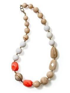 Tinley Road Multi Color Beaded Necklace   Piperlime