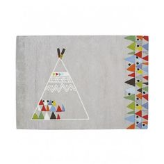 Tapis Teepee coton (120x170cm) Lilipinso
