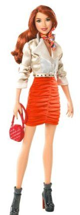 Barbie Stardoll by Barbie Bisou - Orange Doll by Mattel. $18.99. Comes with enclosed gift card to get a Superstar membership online. Barbie has teamed up with Stardoll to bring you the newest line of trendy fashion dolls. Stardoll is the largest online fashion and dress-up game community for girls. Experience all the online fun of Stardoll in the real world. Girls will love mixing and matching trendy fashions and accessories. From the Manufacturer B...