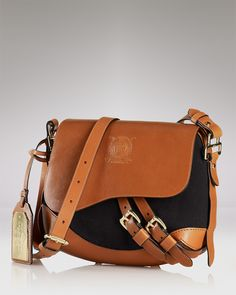 Lauren Ralph Lauren Crossbody - Larchmont Canvas Sale - Handbags -  Bloomingdale s a2fd74ce15a2e
