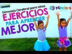 Gimnasia Cerebral para niños - 6 ejercicios para aprender mejor - YouTube Kids Gym, Yoga For Kids, Diy For Kids, Infant Activities, Preschool Activities, Chico Yoga, Traveling Teacher, Mindfulness For Kids, Brain Gym