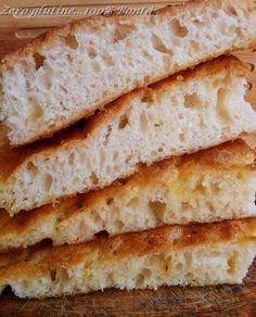 Focaccia morbida senza glutine
