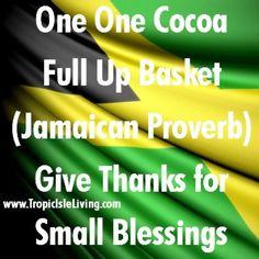Jamaican proverbs #culture