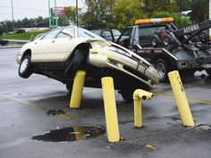 A collection of strange and stupid car accidents where some of them just seems to defy logic.